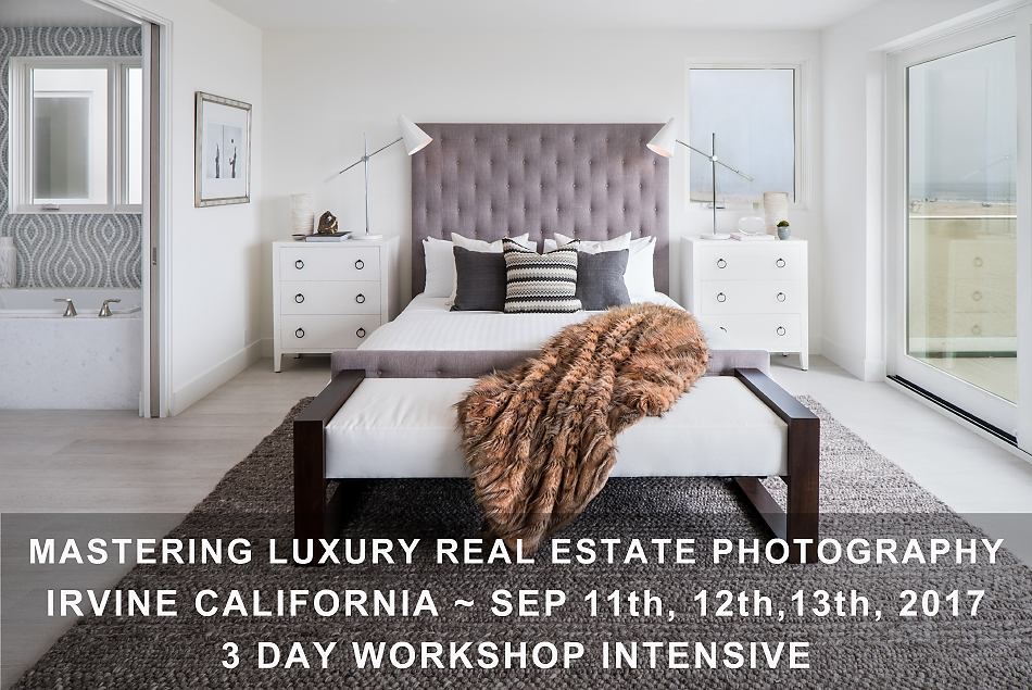 Mastering Luxury Real Estate Photography 3 Day Workshop Intensive