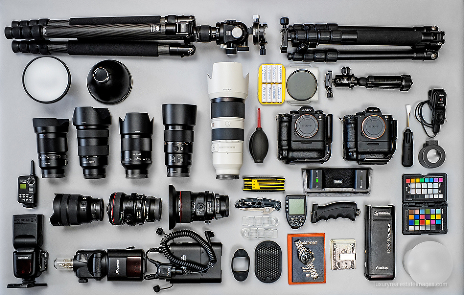 Luxury Real Estate Photography Gear
