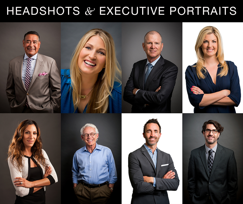 Headshots & Executive Portraits